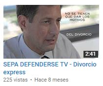 Sepa Defenderse TV - Divorcio Express