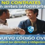 No contrates sin informarte